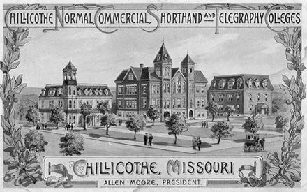 chillicothe business college drawing