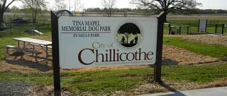 Welcome to Mills Park in Chillicothe, Missouri Home of the Tina Mapel Memorial Dog Park
